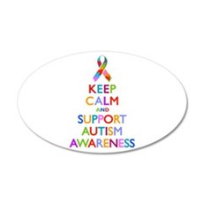 Support Autism Awareness Wall Decal