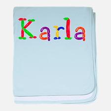 Karla Balloons baby blanket
