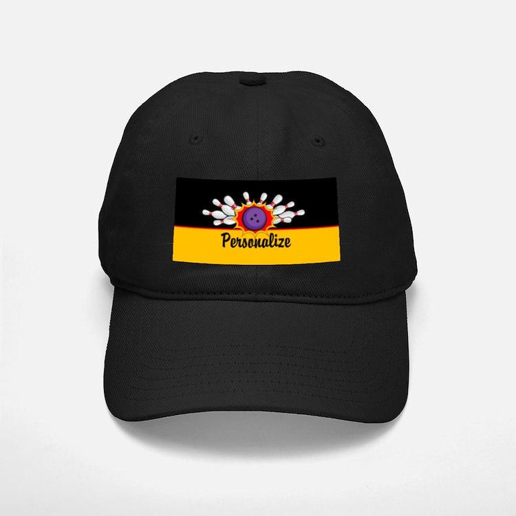 Bowling Custom Baseball Hat