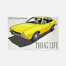 thug life pinto Rectangle Magnet