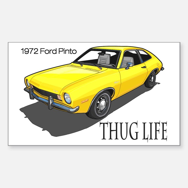 thug life pinto Decal