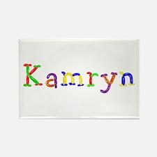 Kamryn Balloons Rectangle Magnet