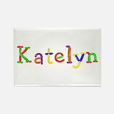 Katelyn Balloons Rectangle Magnet