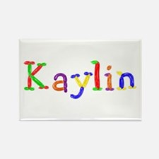 Kaylin Balloons Rectangle Magnet