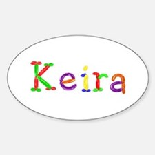 Keira Balloons Oval Decal