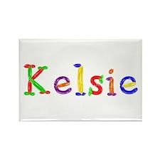 Kelsie Balloons Rectangle Magnet
