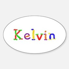 Kelvin Balloons Oval Decal