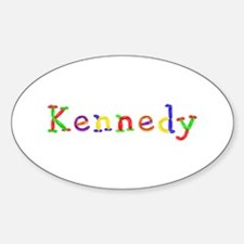 Kennedy Balloons Oval Decal