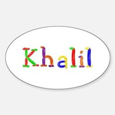Khalil Balloons Oval Decal