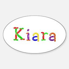 Kiara Balloons Oval Decal