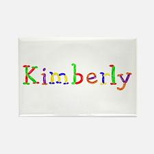 Kimberly Balloons Rectangle Magnet