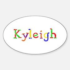 Kyleigh Balloons Oval Decal