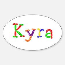 Kyra Balloons Oval Decal