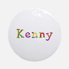 Kenny Balloons Round Ornament