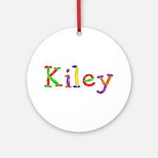 Kiley Balloons Round Ornament