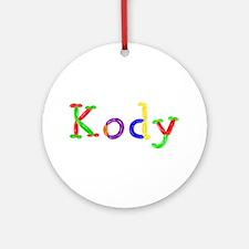 Kody Balloons Round Ornament