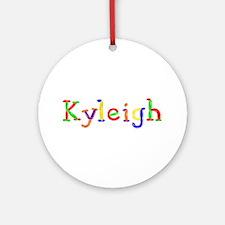 Kyleigh Balloons Round Ornament