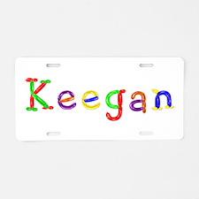 Keegan Balloons Aluminum License Plate
