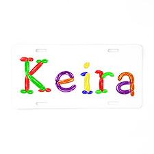Keira Balloons Aluminum License Plate
