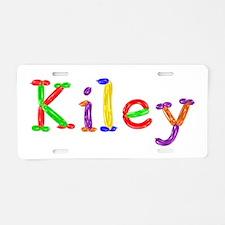 Kiley Balloons Aluminum License Plate