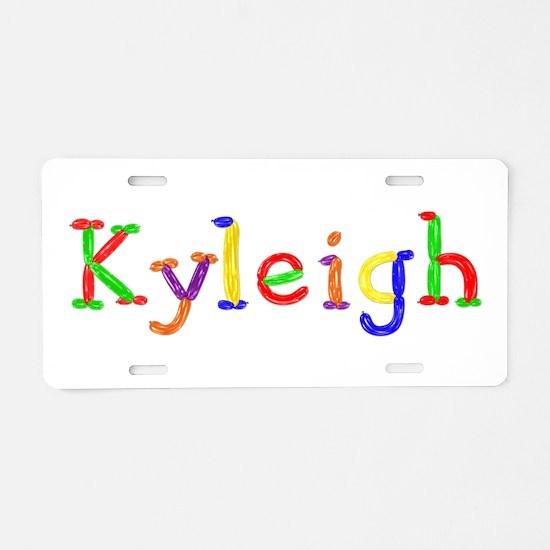Kyleigh Balloons Aluminum License Plate