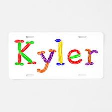 Kyler Balloons Aluminum License Plate