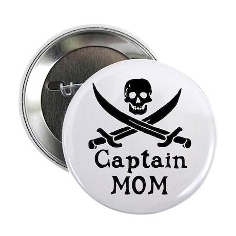 """Captain Mom 2.25"""" Button"""