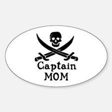 Captain Mom Decal