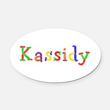 Kassidy Balloons Oval Car Magnet