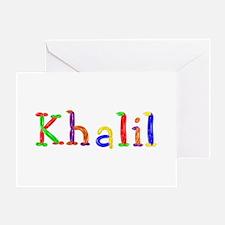 Khalil Balloons Greeting Card