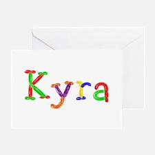 Kyra Balloons Greeting Card