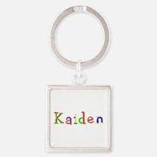 Kaiden Balloons Square Keychain