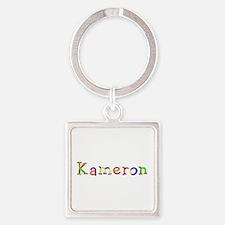 Kameron Balloons Square Keychain
