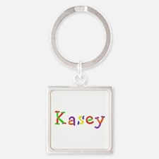 Kasey Balloons Square Keychain