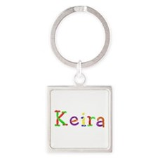 Keira Balloons Square Keychain