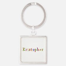 Kristopher Balloons Square Keychain