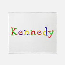 Kennedy Balloons Throw Blanket