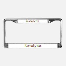 Katelynn Balloons License Plate Frame