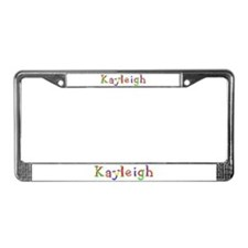 Kayleigh Balloons License Plate Frame