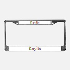 Kaylie Balloons License Plate Frame