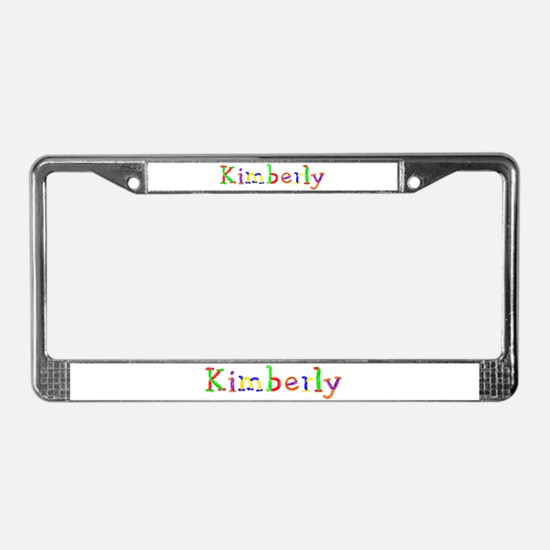 Kimberly Balloons License Plate Frame