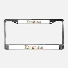 Kristina Balloons License Plate Frame
