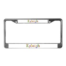 Kyleigh Balloons License Plate Frame