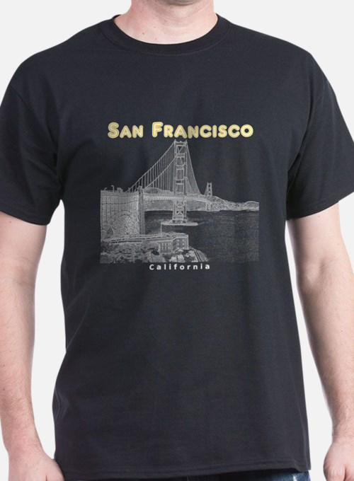 Cute San francisco souvenirs T-Shirt