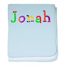Jonah Balloons baby blanket