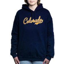 Colorado Script Gold VIN Women's Hooded Sweatshirt