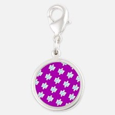 Practice Autism Altruism Purple for Victor Charms