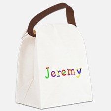 Jeremy Balloons Canvas Lunch Bag