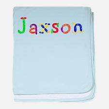 Jaxson Balloons baby blanket