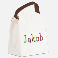 Jakob Balloons Canvas Lunch Bag
